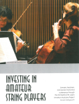 Investing in Amateur String Players