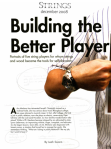 Building the Better Player, Strings
